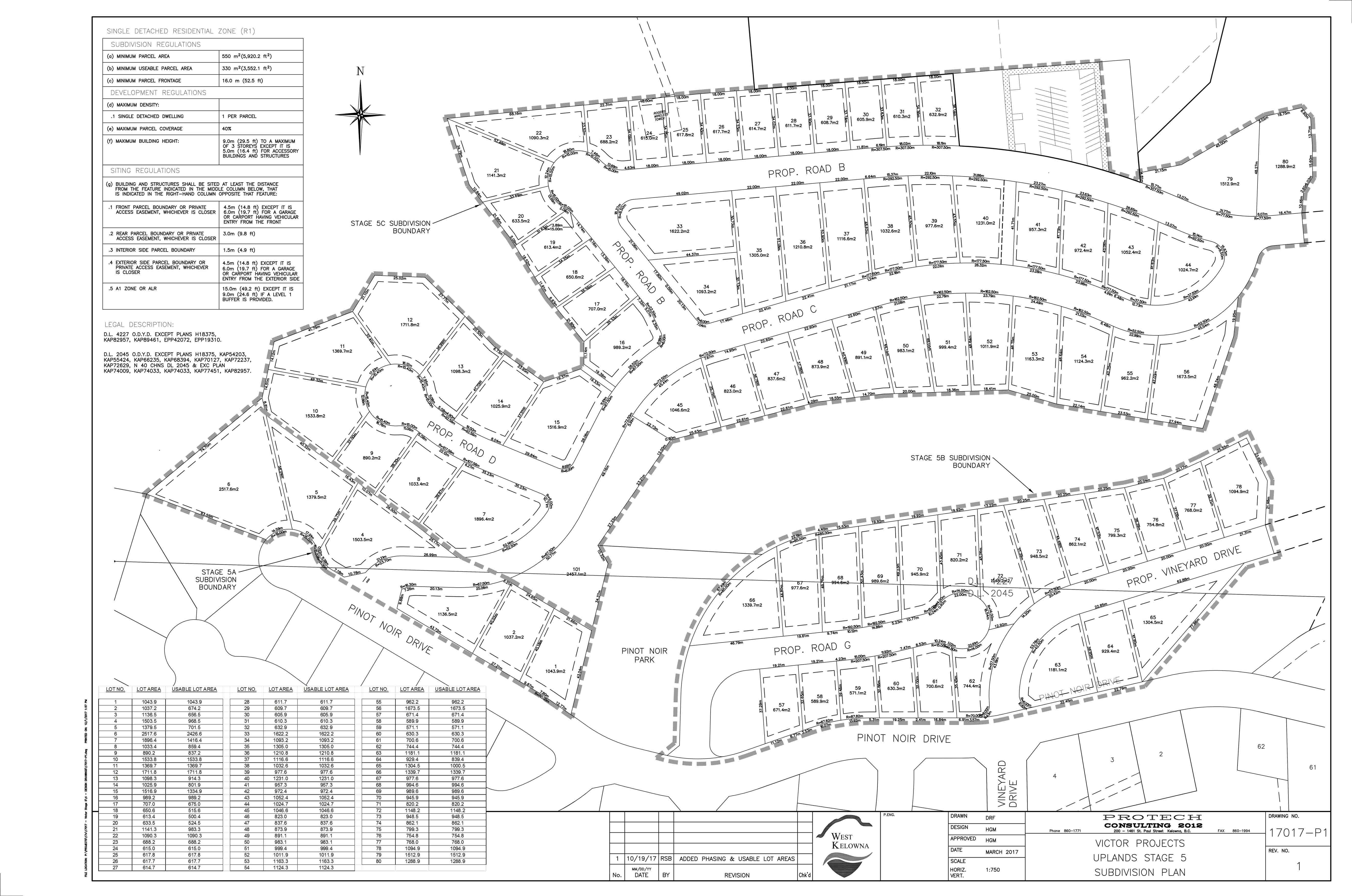 Vineyard Estates – Phase V